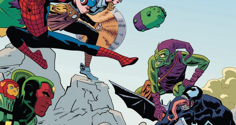 Marvel Tsum Tsum #1: Here Comes The Tsum - Comic Book Review