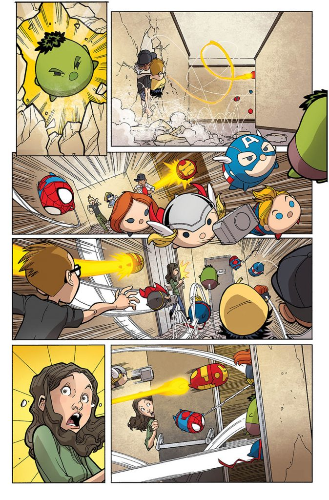 Marvel Tsum Tsum #1 Here Comes The Tsum - Comic Book