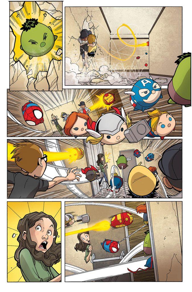 Marvel Tsum Tsum #1 Here Comes The Tsum - Comic Book
