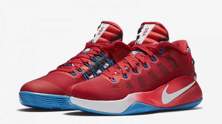 "Nike Hyperdunk 2016 Low LMTD ""USA"""