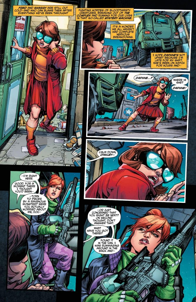 Scooby Apocalypse #4: Fur And Fangs!