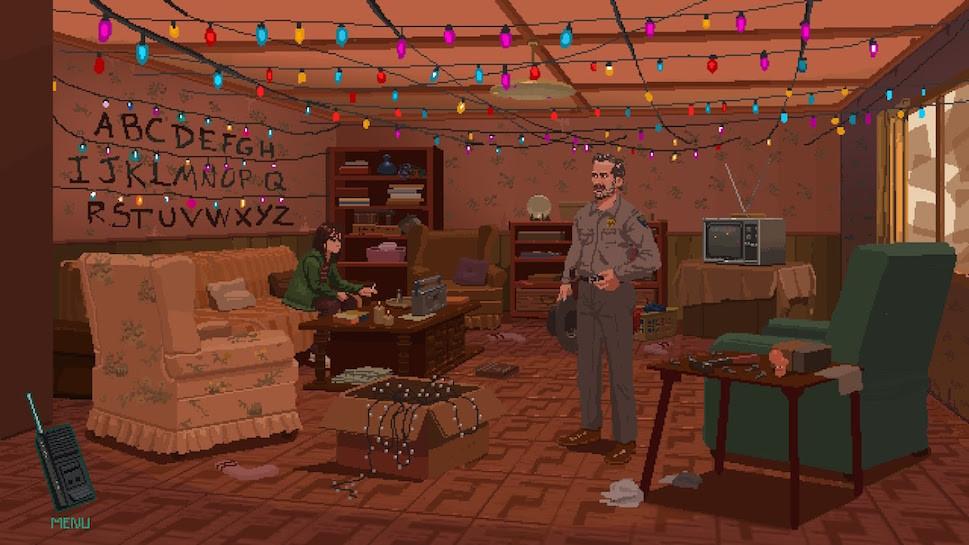 Stranger Things adventure game