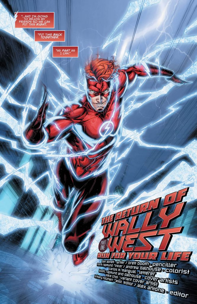 Titans #1 comic book Review