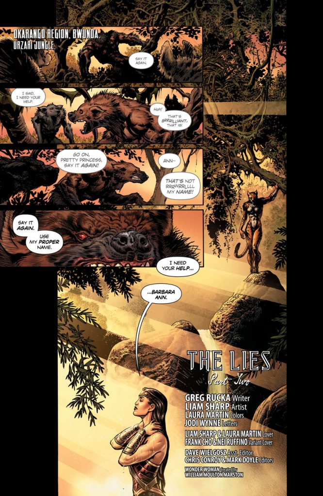 Wonder Woman #3 - The Lies Part Two - Comic Book Review