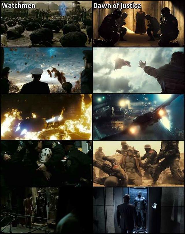 Batman V Superman Watchmen DCEU