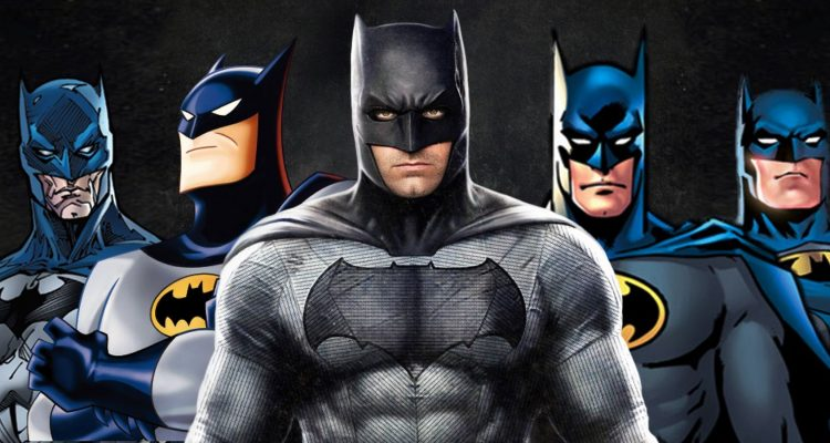 12 actors and the batman they played