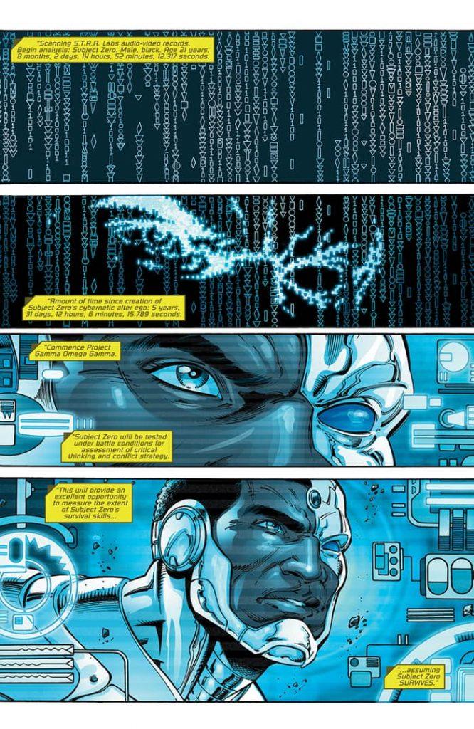 Cyborg: Rebirth #1