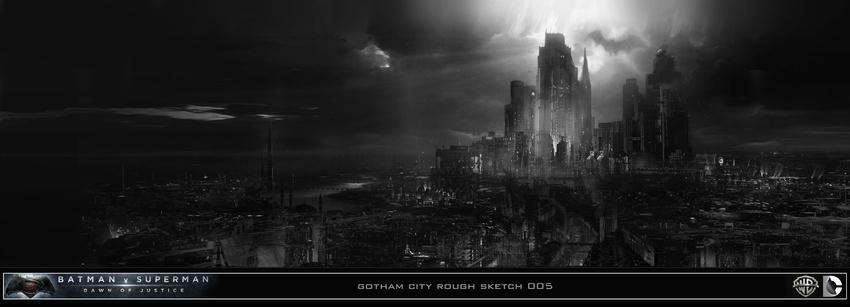 Batman Concept Art Bvs