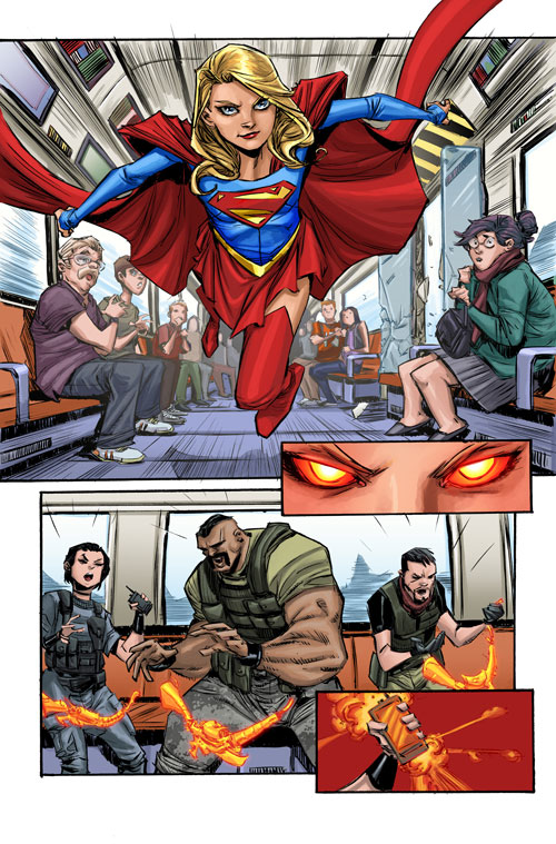 Supergirl #1: Reign Of The Cyborg Supermen Part 1