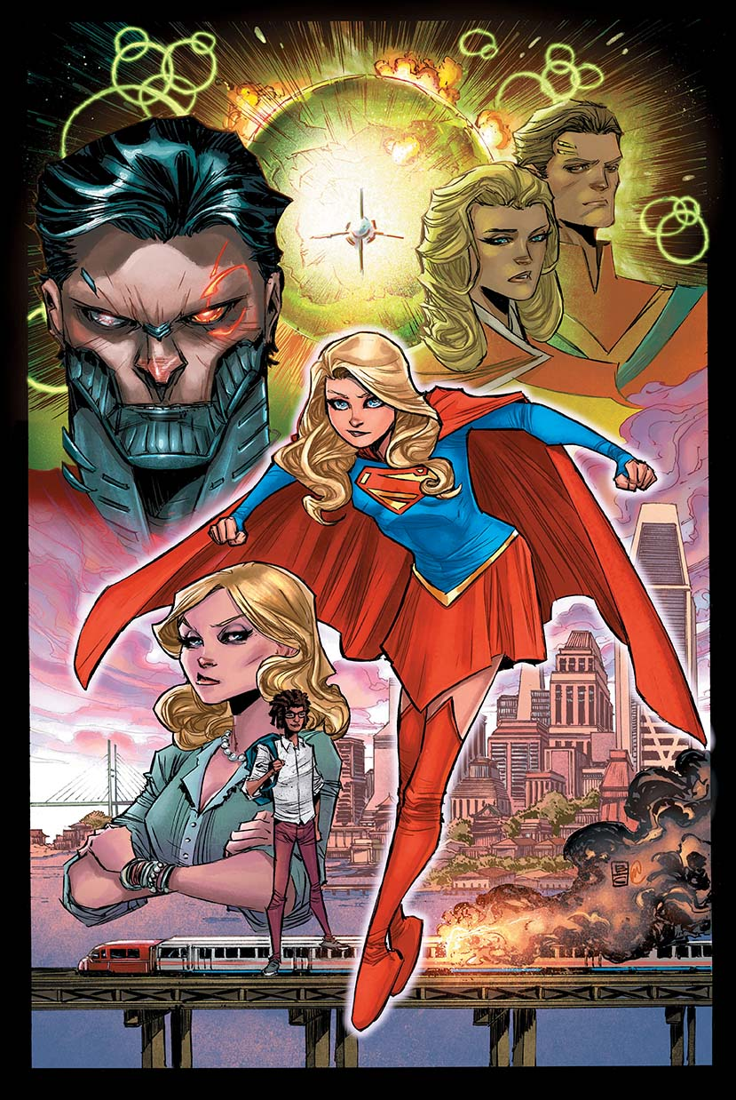 Supergirl #1: Reign Of The Cyborg Supermen Part 1
