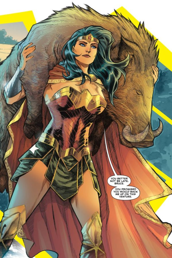 trinity #1 - comic book review