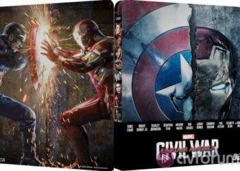 Blu-ray Captain America: Civil War