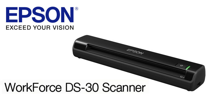 Epson Workforce Ds 30 Portable Scanner Tech Review