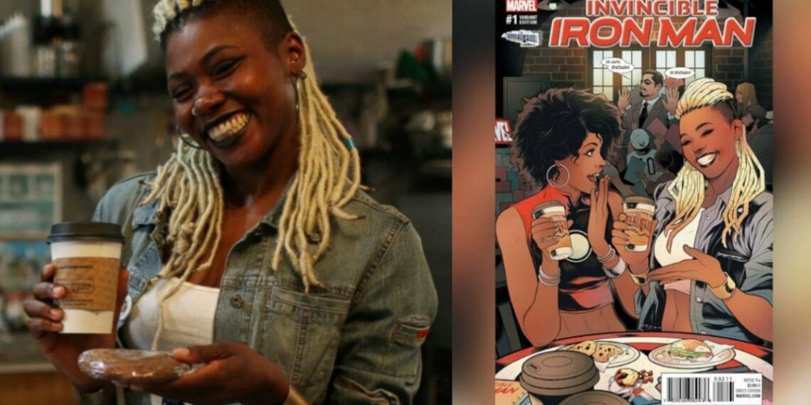 First Black Woman Comic Book Store Owner Appears On A Marvel Cover