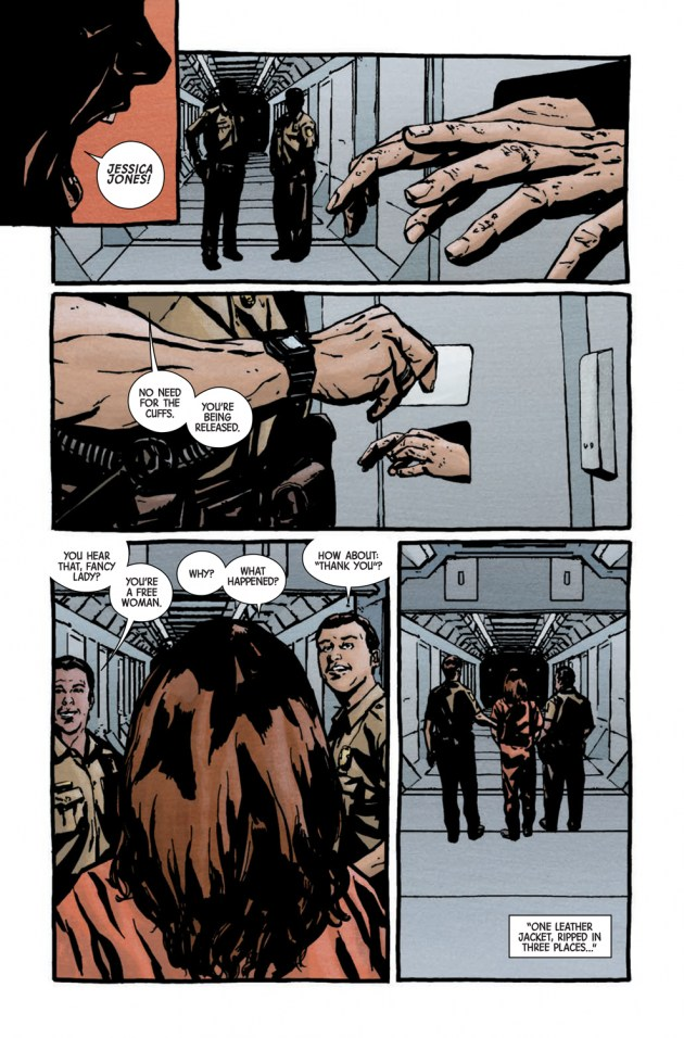 Jessica Jones #1 - comic book Review