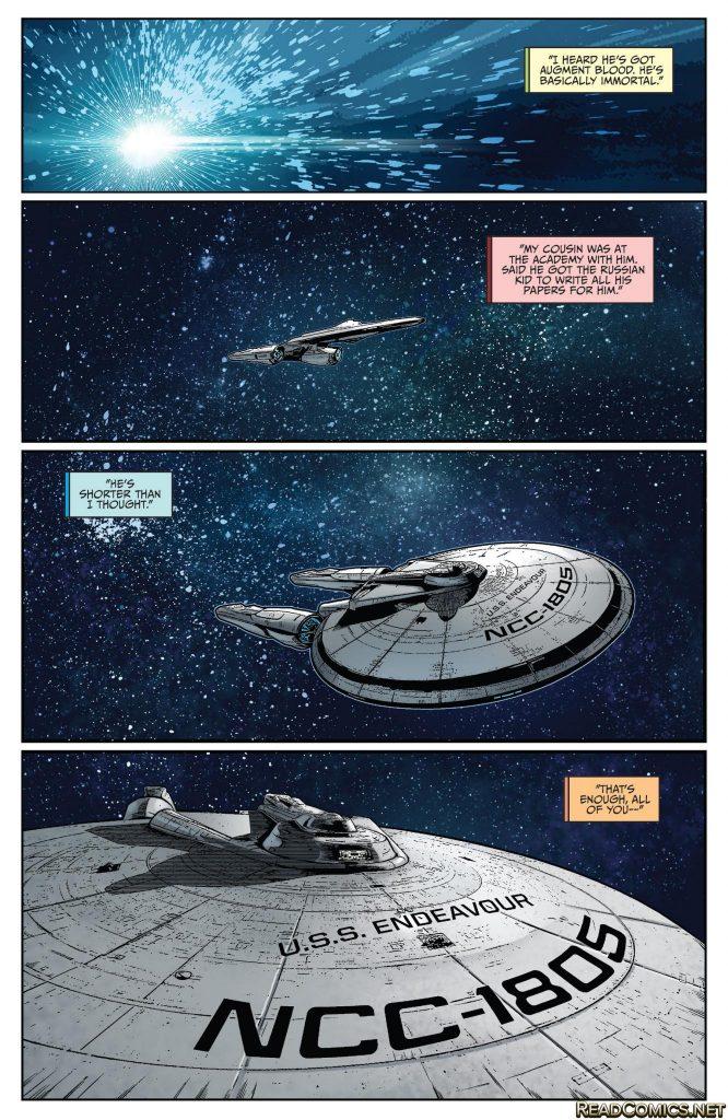 Star Trek: Boldly Go #1 - Comic Book Review