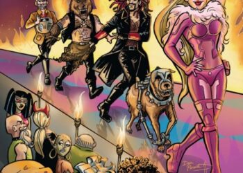 Wacky Raceland #5 - Comic Book Review