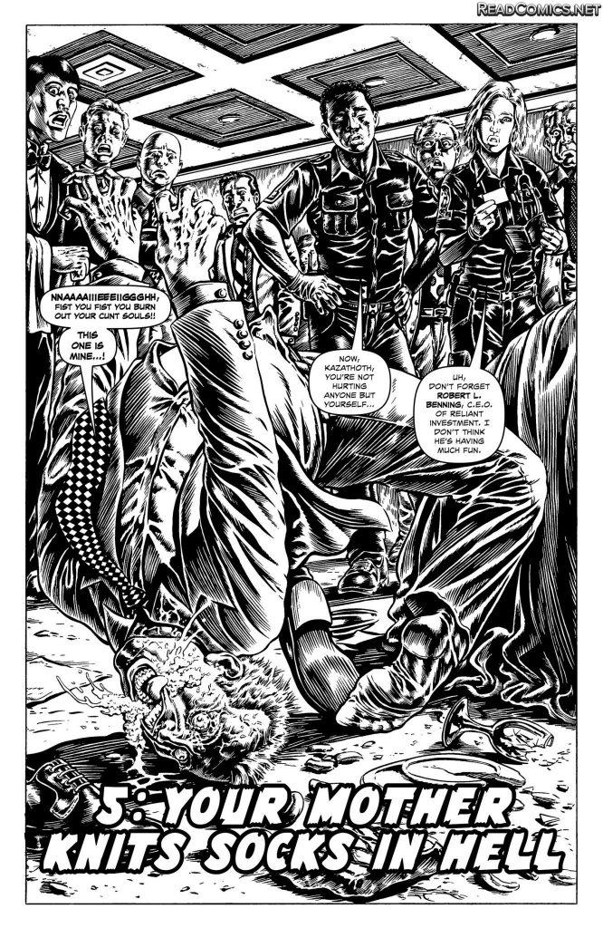 Cinema Purgatorio #5 - Comic Book Review