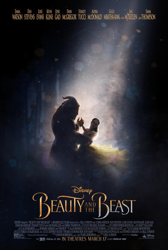 The Official Beauty and the Beast Poster is Here!