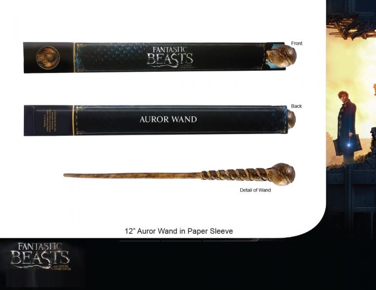 Auror Wand in Paper Sleeve