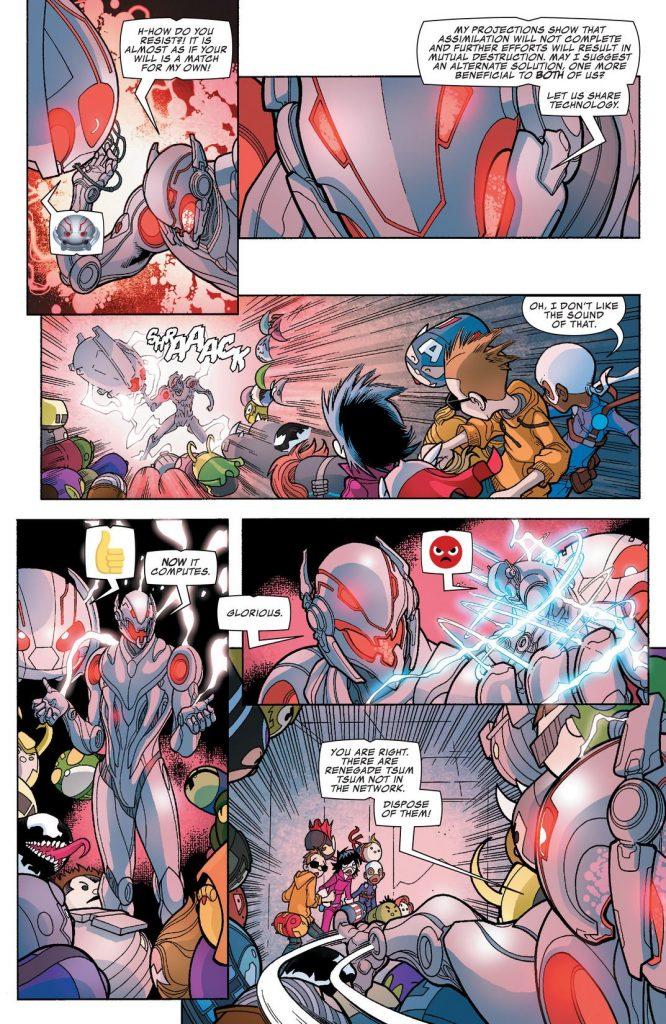 Marvel Tsum Tsum #4 comic book Review