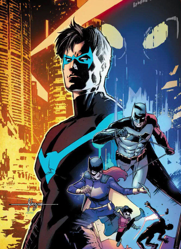 Not only is Dick Grayson the most popular of all those to take up the Robin mantle, but he's also become a fan favourite in his own right as Nightwing.