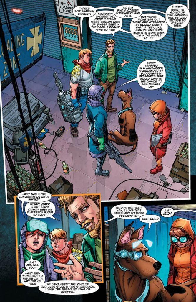Scooby Apocalypse #7 - Comic Book Review
