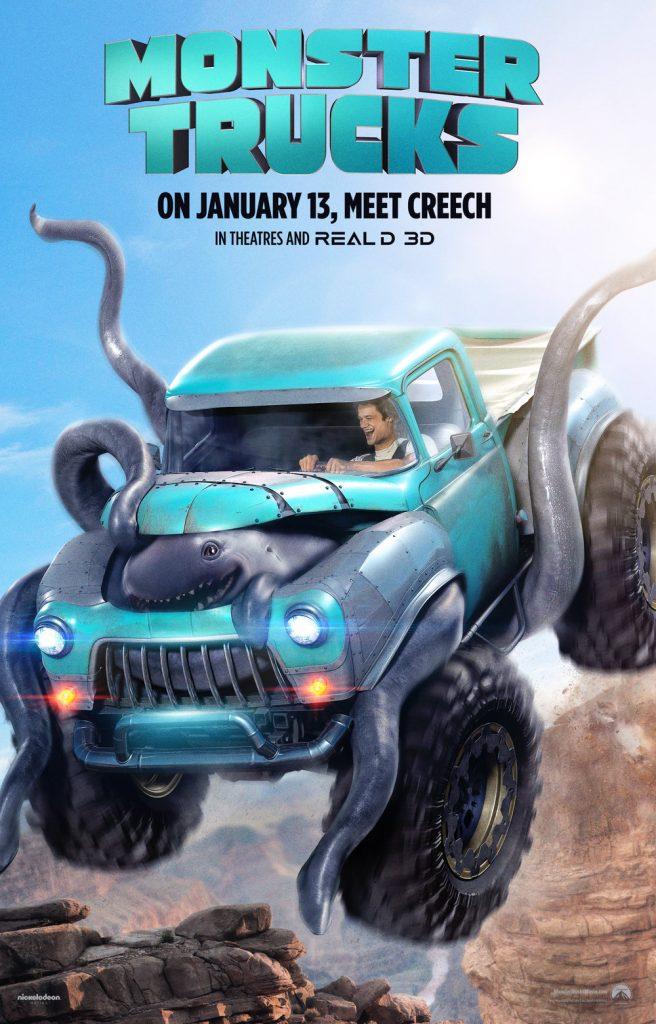 Monster Trucks + movie