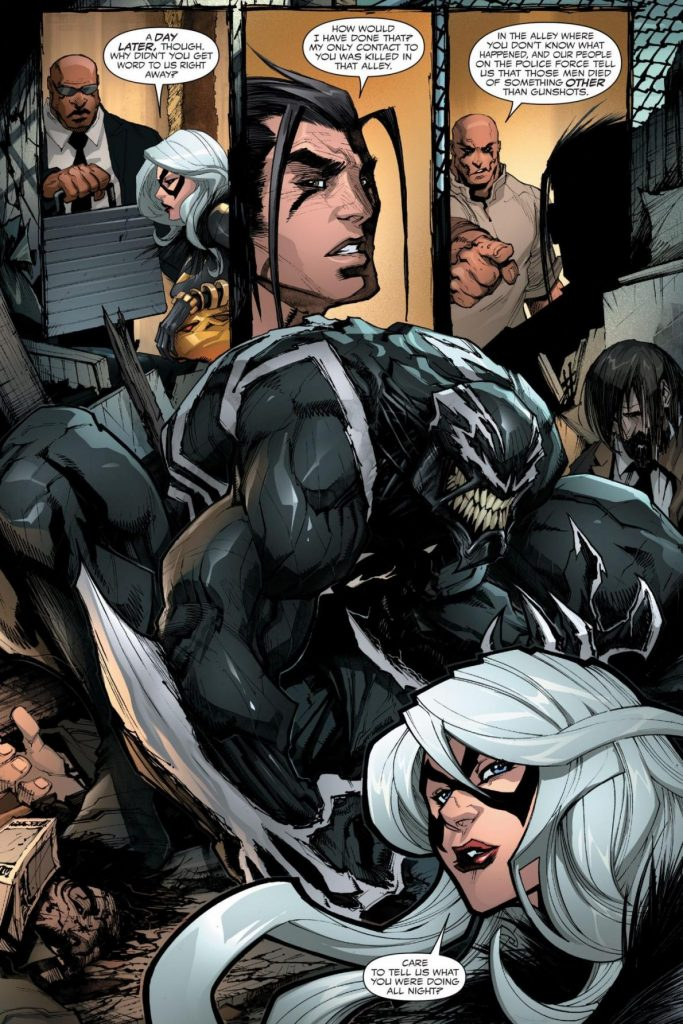 Venom #2 comic book review