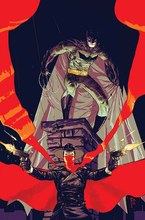 Batman and The Shadow will get a new comic book series
