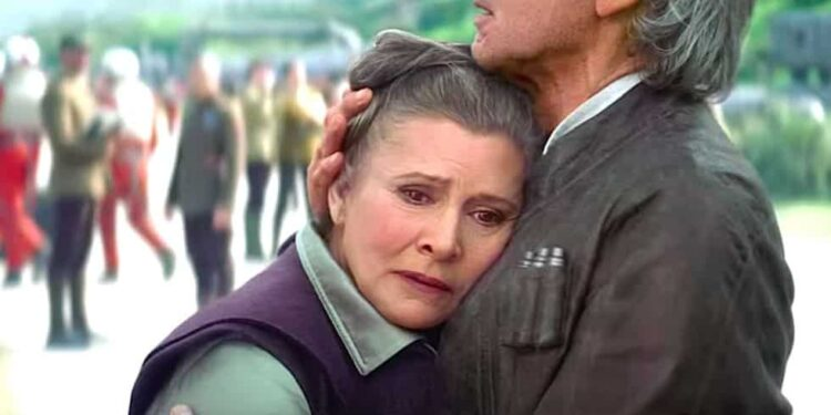 CGI Carrie Fisher