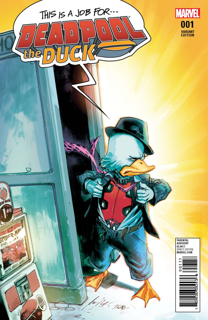 Deadpool The Duck #1 Comic Book Review