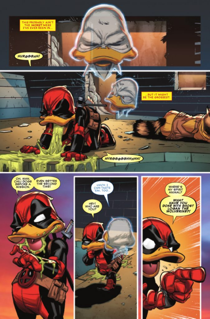 Deadpool the Duck #2 Review - Not As Great As The First Issue