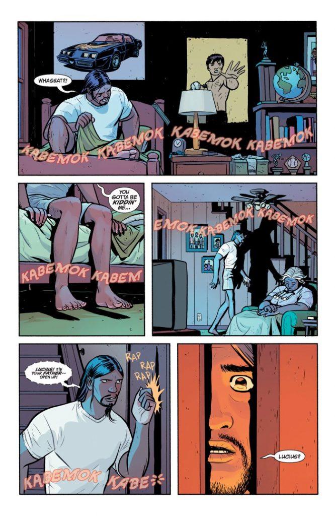 Doom Patrol #4 comic book review