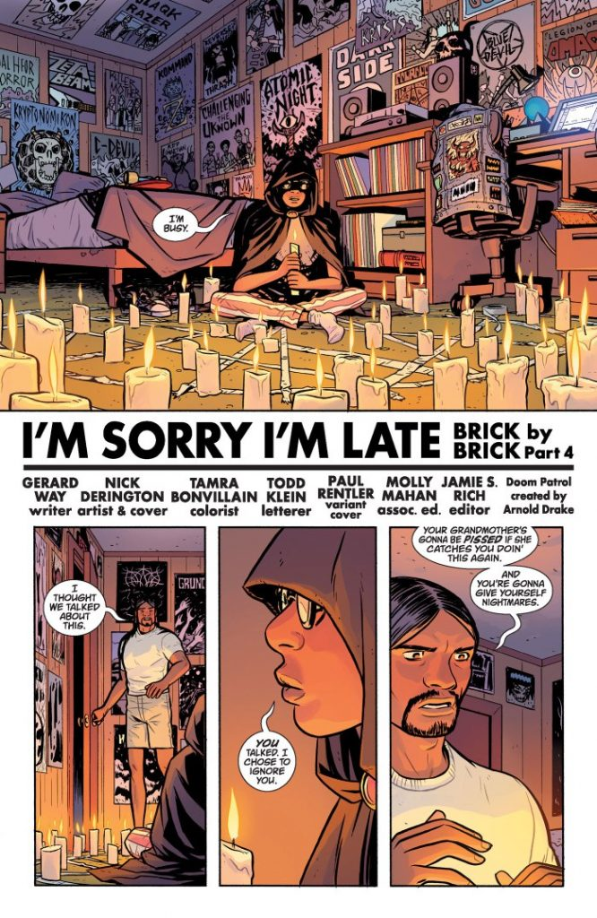 Doom Patrol #4 review comic