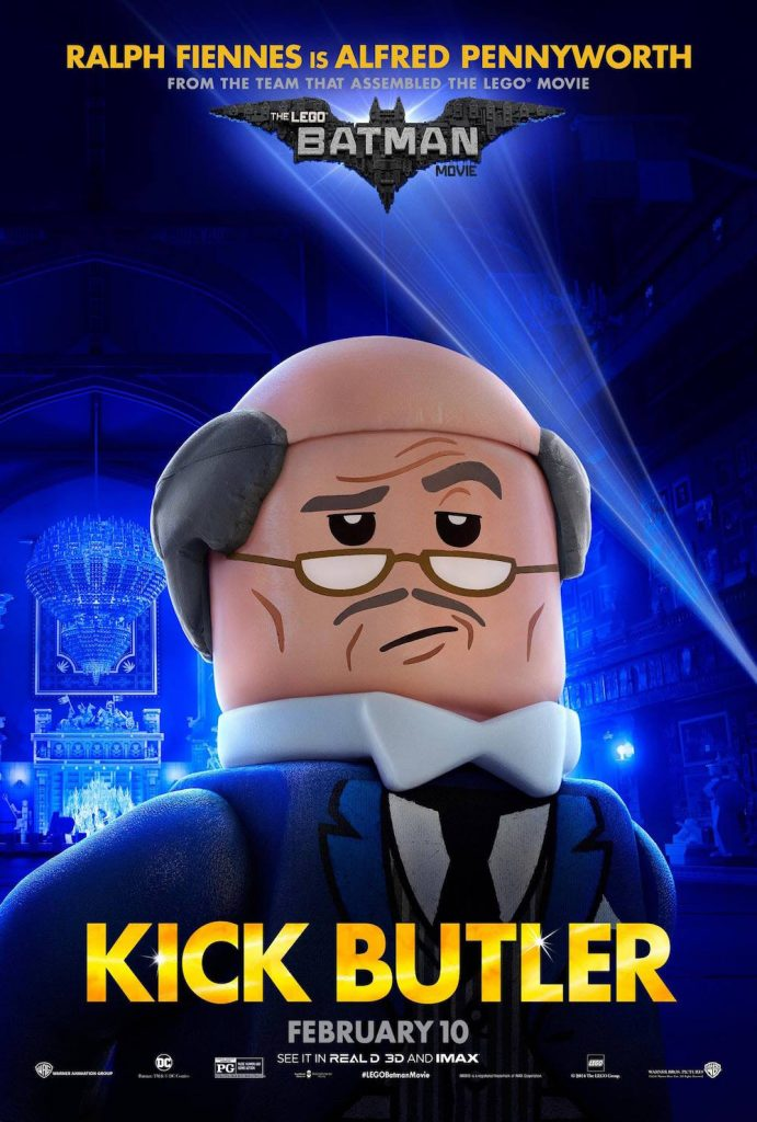 Exclusive Interview With The Batman LEGO Movie Cast Alfred