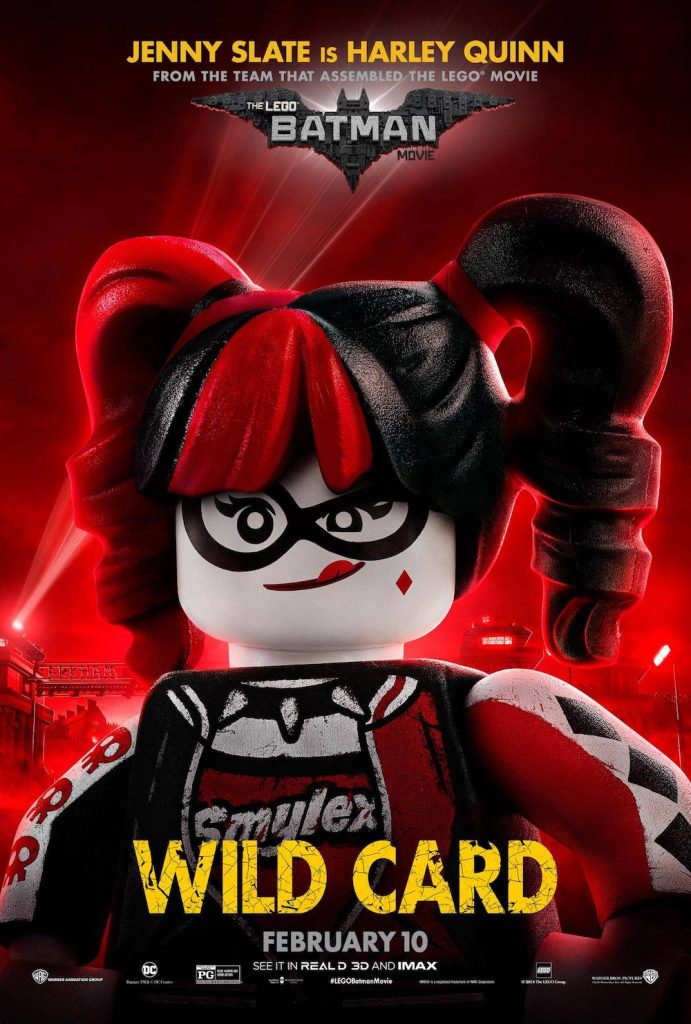 Exclusive Interview With The Batman LEGO Movie Cast Harley Quinn