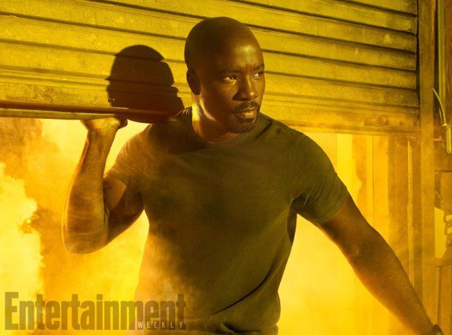 First Official Images From Marvel's The Defenders Luke Cage