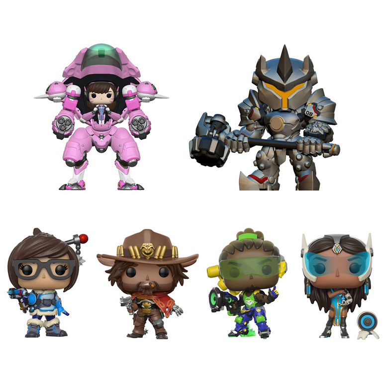 More Cute Overwatch Funko Pop Figures Incoming