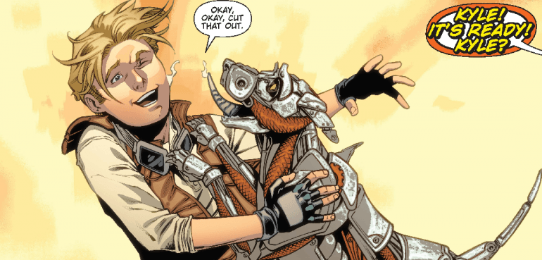 Red Dog #1 comic book Review