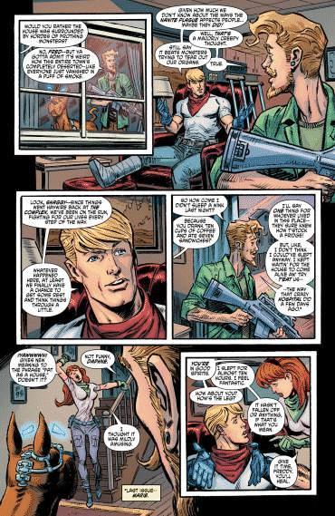 Scooby Apocalypse #9 comic review