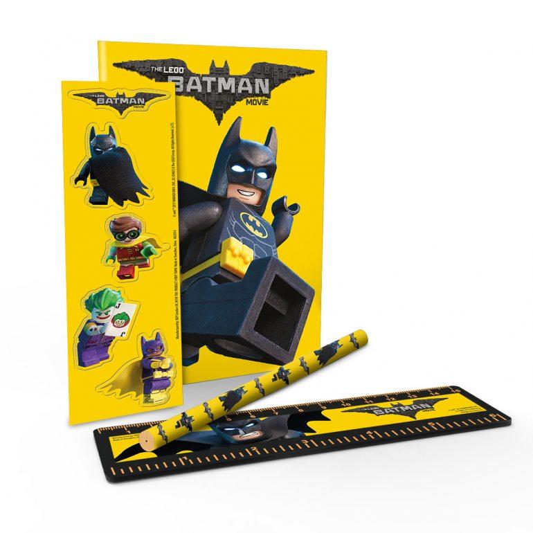 The Lego Batman Movie Stationery Set