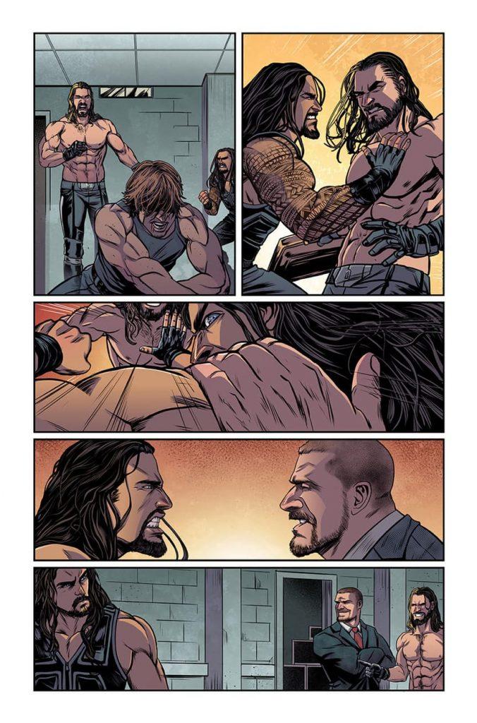 WWE #1 Comic Book