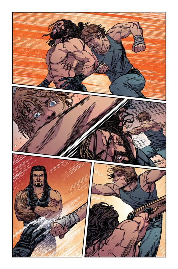 WWE #1 Comic Review