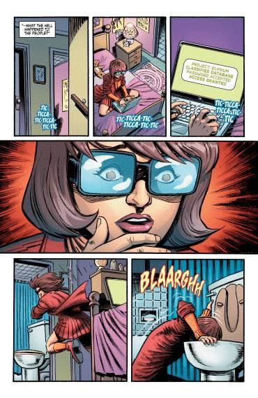 comic Scooby Apocalypse #9 review