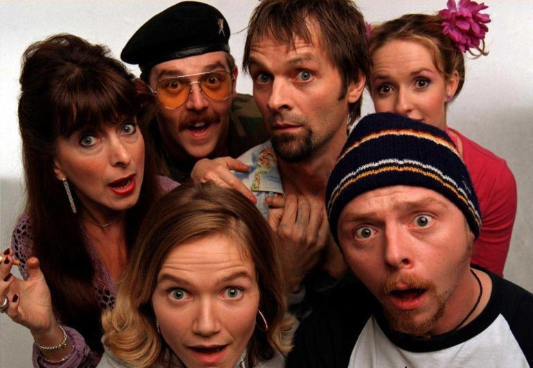 spaced tv show review