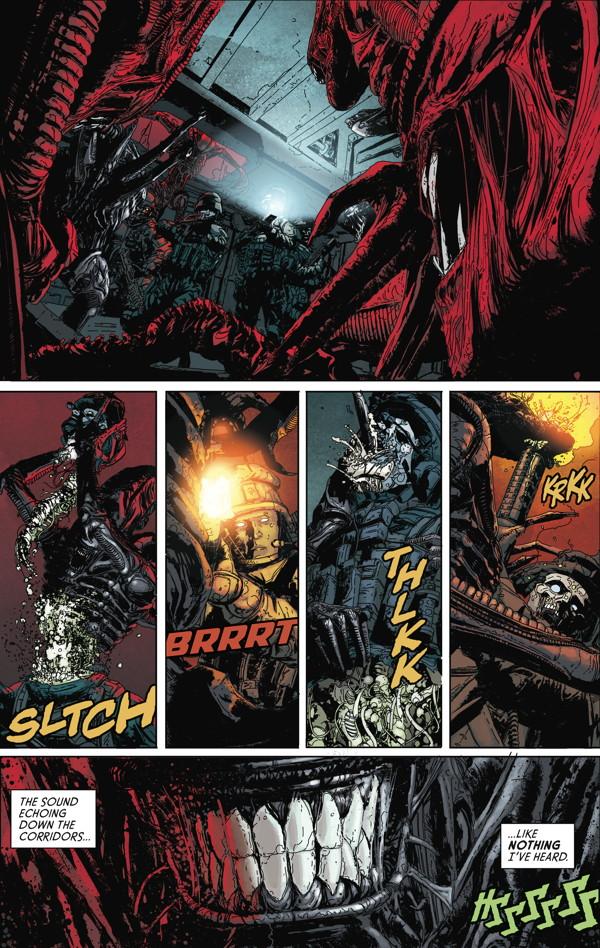 Aliens Defiance - Comic Book Review