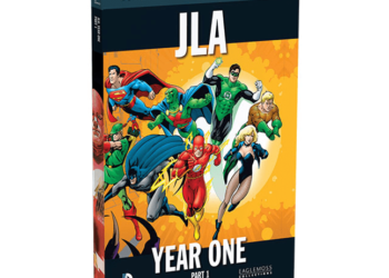 DC JLA YEAR ONE review
