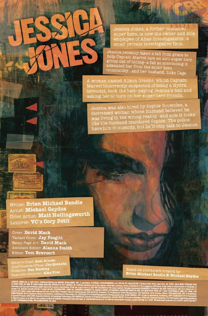 Jessica Jones #5 Review