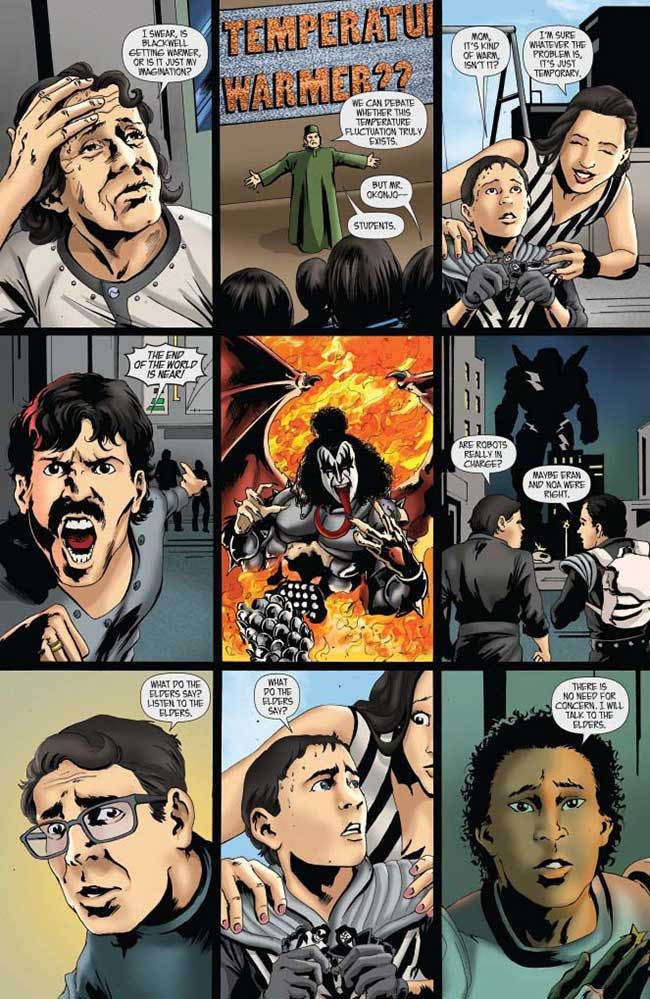 KISS #5 Comic Book Review